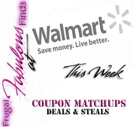 WALMART DEALS THIS WEEK 8-5 thru 8-11 COUPON MATCHUPS ~ FREE + GROCERY DEALS