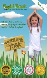 PRODUCT REVIEW + GIVEAWAY: STORYLAND YOGA FOR KIDS DVD