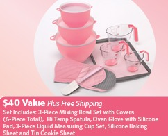 FREE PINK COOKWARE SET – P&G PROMO WYB $25 at HARRIS TEETER
