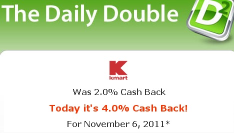 KMART COUPON CODES + SALES + DOUBLE CASH BACK + FREE $10 GIFT CARD – TODAY ONLY