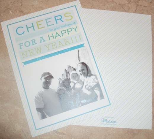 PRODUCT REVIEW: MIXBOOK {NEW YEARS CARDS}