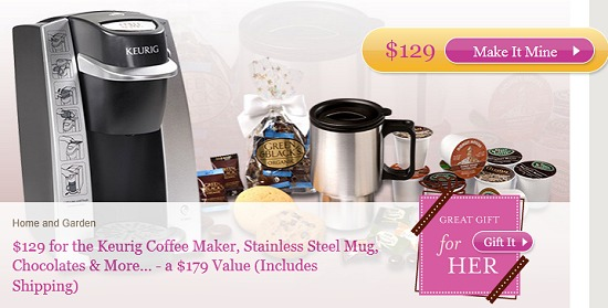 KEURIG BREWER + K-CUP GIFT PACK DEAL just $124 SHIPPED