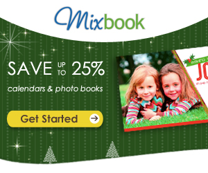 MIXBOOK PHOTO BOOKS + CALENDARS 25% OFF COUPON CODE + CHRISTMAS SHIPPING OPTIONS