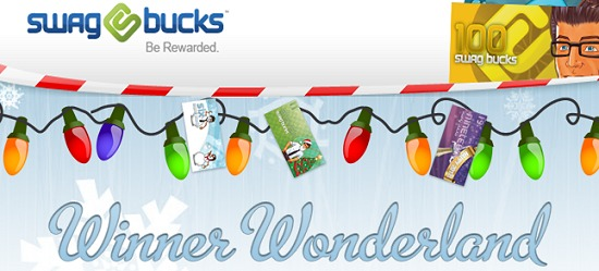 SWAGBUCKS HOLIDAY HAPPENINGS + 100 SWAGBUCK BONUS CODE FOR NEW USERS
