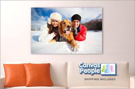 CANVAS PEOPLE FREE PHOTO CANVAS or $55 CREDIT FOR NEW USERS
