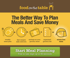 FREE MENU PLANNING COUPON CODE = NO UPGRADE FEE IN JULY