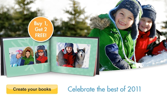 SNAPFISH PHOTOBOOK DEAL – BUY 1 GET 2 FREE