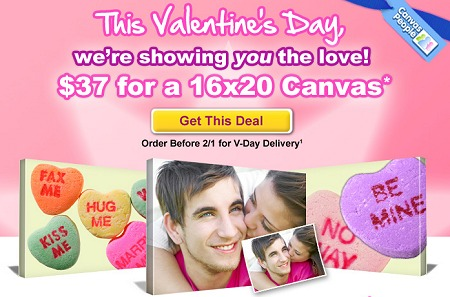 MOTHERS DAY CANVAS PHOTO DEALS – 11×14 only $27 OR 16×20 just $37 – ENDS AT MIDNIGHT