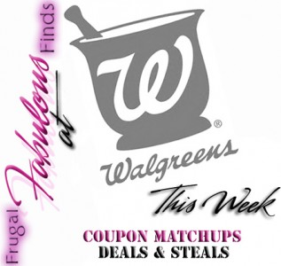 WALGREENS DEALS THIS WEEK 7-29 thru 8-4 COUPON MATCHUPS