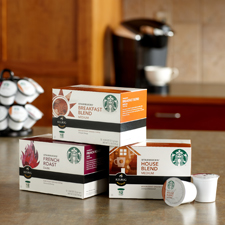 STARBUCKS K-CUP PACKS NOW AVAILABLE ONLINE