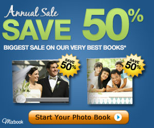MIXBOOK COUPON CODE – 50% OFF PHOTO BOOKS – TV AD PROMO
