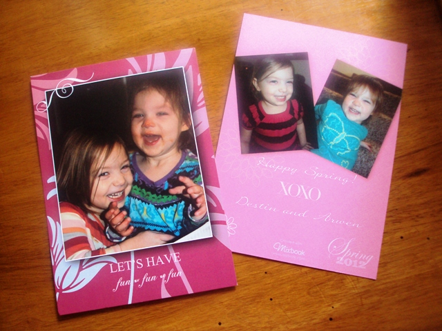 PRODUCT REVIEW: MIXBOOK – PHOTO BIRTH ANNOUNCEMENTS