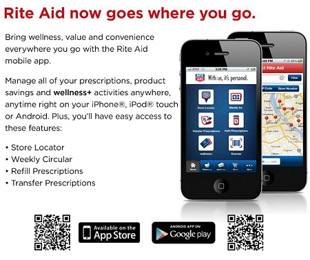 RITE AID MOBILE APP NOW AVAILABLE