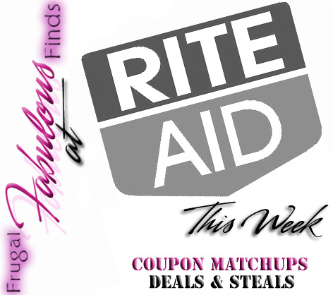 BEST RITE AID DEALS THIS WEEK 7-15 thru 7-21 COUPON MATCHUPS