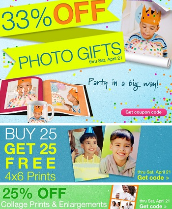 WALGREENS PHOTO DEALS + COUPON CODE LIST THIS WEEK 4-15 thru 4-21