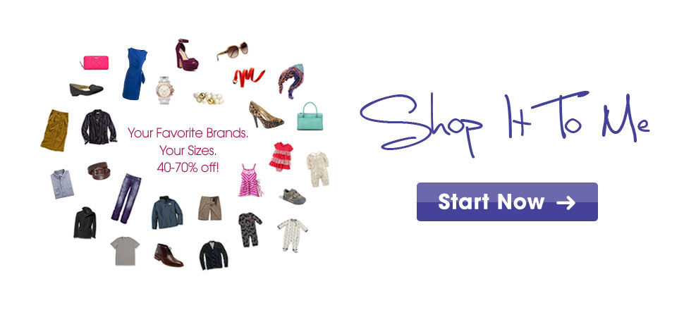 SHOP IT TO ME – YOUR FREE PERSONAL SHOPPER