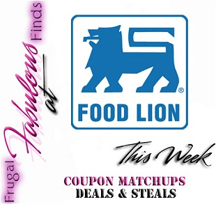 BEST FOOD LION DEALS THIS WEEK 5-9 thru 5-15 COUPON MATCHUPS