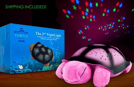TWILIGHT TURTLE CONSTELLATION NIGHT LIGHT just $15 SHIPPED