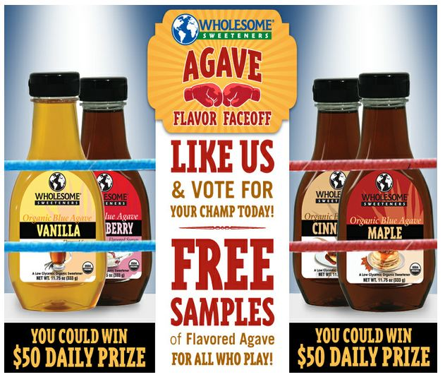 FACEBOOK FREEBIE: FREE AGAVE SAMPLE