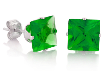 DARCUS TORI: 100% OFF EMERALD STUD EARRINGS