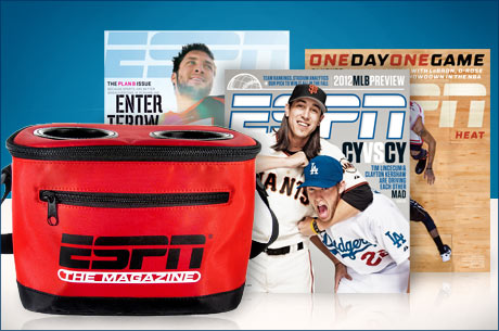 FATHERS DAY DEAL: ESPN MAGAZINE SUBSCRIPTION + TRAVEL COOLER just $13