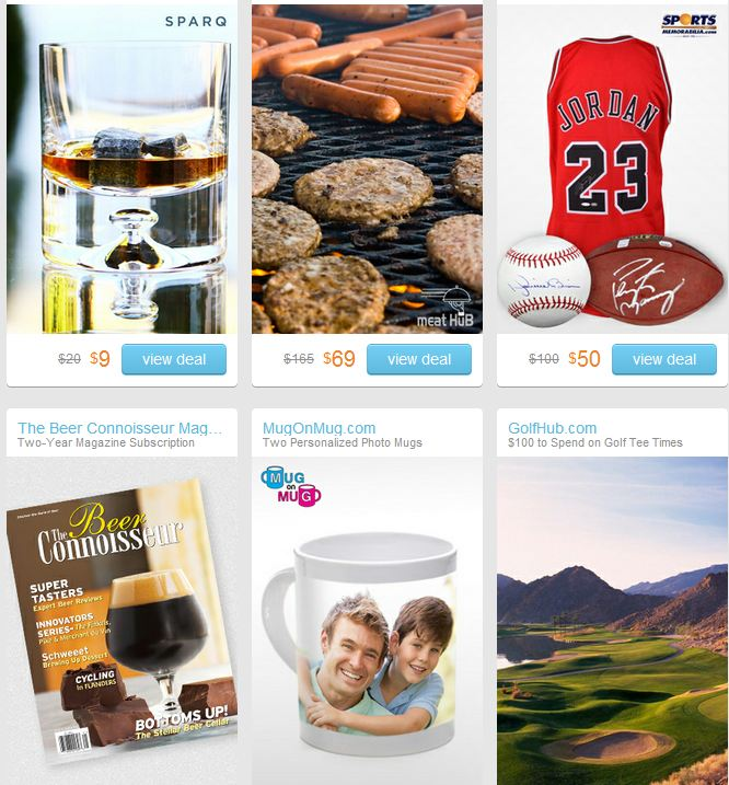 FATHERS DAY DEALS LIST FROM LIVINGSOCIAL: 5-31