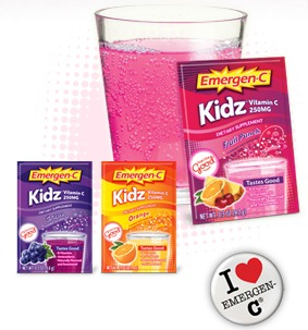 FACEBOOK FREEBIE: FREE SAMPLE EMERGEN-C KIDZ