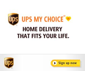 UPS MYCHOICE – FREE SERVICE TO SCHEDULE, TRACK + RE-ROUTE DELIVERIES + MORE