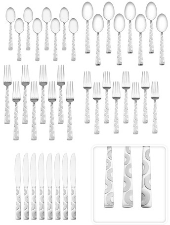 PFALTZGRAFF 40 PC FLATWARE SET just $29 – TODAY ONLY DEAL