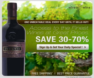 Save up to 70% off on Wired for Wine!