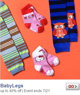ZULILY: SAVE 40% OFF BABYLEGS LEG WARMERS + SOCKS