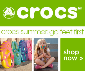 CROCS SALE : 20% OFF SITE WIDE TODAY ONLY!!