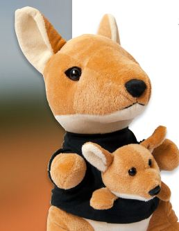 FREE STUFFED HOPPER KANGAROO FROM DISH NETWORK
