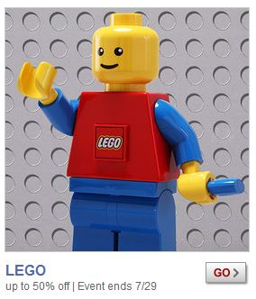 ZULILY: SAVE 50% OFF LEGO PRODUCTS