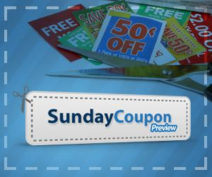 SUNDAY COUPON PREVIEW 7-22 NEWSPAPER COUPONS LIST