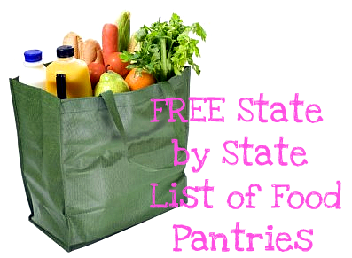 FREE STATE BY STATE LIST OF FOOD PANTRIES