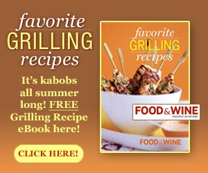 FREE GRILLING RECIPE eBOOK