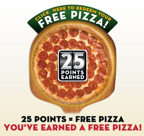 FREE PIZZA AT PAPA JOHNS THRU 8-23-2012