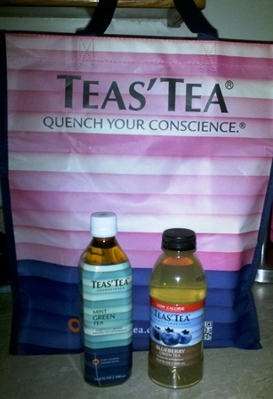 TEAS TEA REVIEW + GIVEAWAY – WIN 2 BOTTLES of GREEN TEA + REUSABLE PINK SHOPPING TOTE