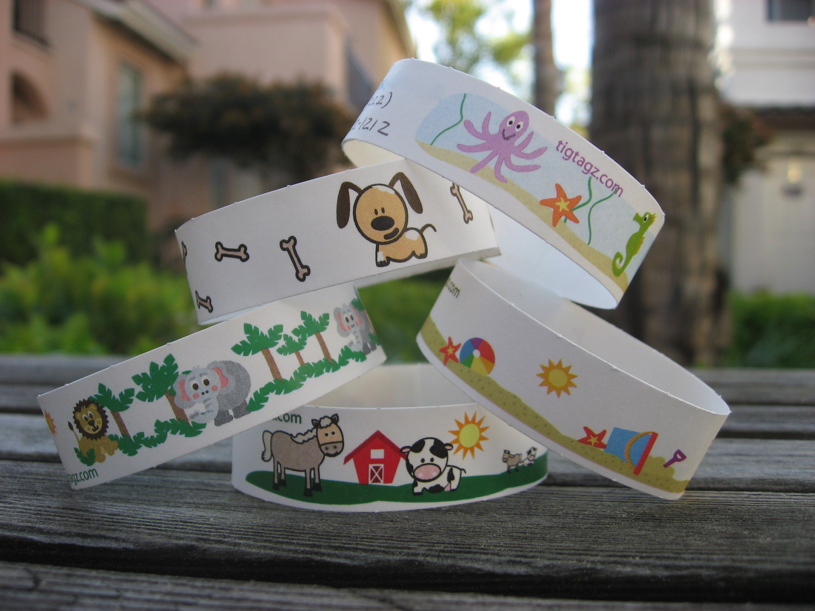 TIGTAGZ KIDS ID BRACELETS REVIEW