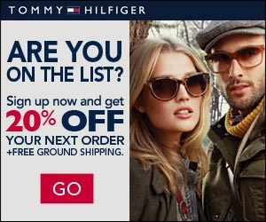SIGN UP FOR TOMMY HILFIGER INSIDER – TAKE 20% OFF YOUR NEXT ORDER + FREE SHIPPING!