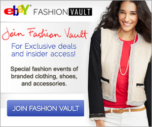 SIGN UP FOR eBAY FASHION VAULT