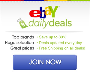 eBAY DAILY DEALS – FREE SHIPPING + 80% OFF ITEMS YOU LOVE!