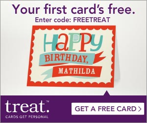 CREATE YOUR FREE TREAT CARD + FREE SHIPPING NOW