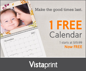 FREE PERSONALIZED PHOTO CALENDAR – JUST PAY SHIPPING!