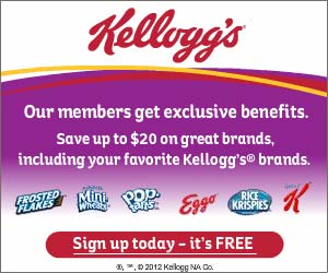 Kelloggs Family Rewards – Enter Codes and Collect Points to earn Awesome Rewards!