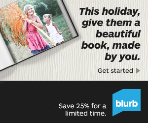 BLURB BLACK FRIDAY + CYBER MONDAY OFFER – EXTENDED THRU 12/3