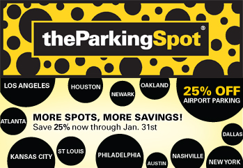 Parking spot discount coupons