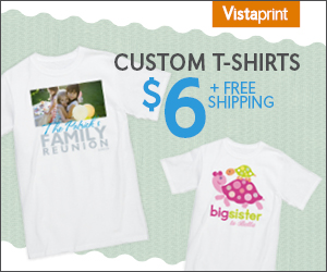Personalized T-Shirts just $6 Shipped!