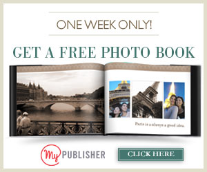 FREE HARDCOVER PHOTOBOOK – COUPON CODE FOR VALENTINE'S DAY FREEBIE – ENDS TONIGHT AT MIDNIGHT!